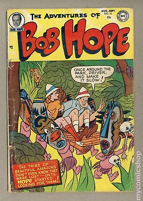 Adventures of Bob Hope #16 1952 GD- 1.8