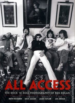 All Access HC The Rock 'n' Roll Photography of Ken Regan #1-REP 2011 NM