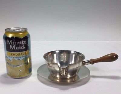 Wonderful Modern Sterling silver TIFFANY & COMPANY MAKERS Brandy Warmer & Dish