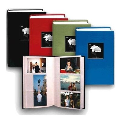 Pioneer Fabric Frame Bi-Directional Memo Photo Album, Bright Fabric Covers,...