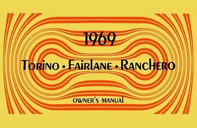 1968 Ford Fairlane Torino Owners Manual User Guide Reference Operator Book Fuses