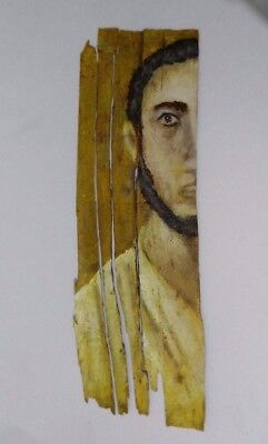 Mummy Portrait Of Roman Egyptian Man