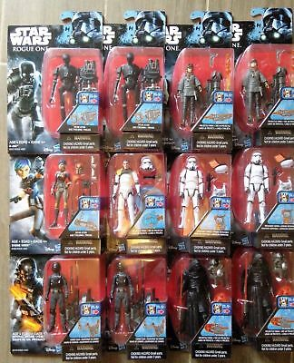 Star Wars Rogue One 3.75 Figures Combined Postage