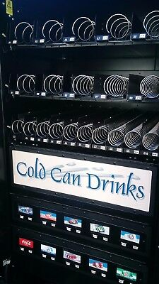 Automatic Products LCM 4 Combo Snack and Beverage Vending Machine coke pepsi