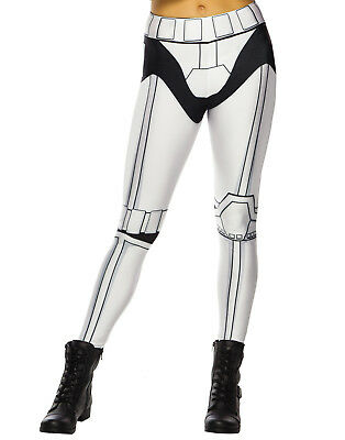 Star Wars Stormtrooper Adult Womens Leggings Yoga Pants-One Size