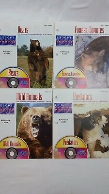 Corel Stock Photo CDs, Wild Animals, Royalty Free, PCD format Includes Booklets