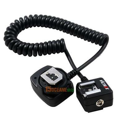 1X 80cm SC-29 TTL Off-Camera Flash Light Hot Shoe Sync Cable Cord for Nikon DSLR