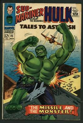 Stan Lee Signed Tales To Astonish #85 Comic Book Incredible Hulk PSA/DNA #W18853