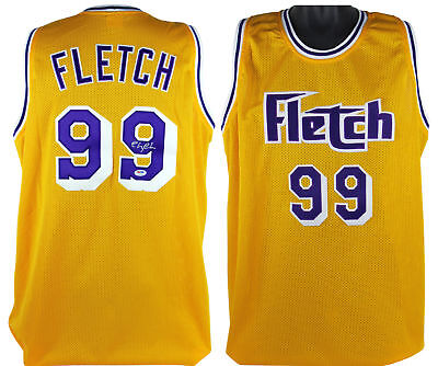 7e3979625 Chevy Chase Fletch Authentic Signed Yellow Mesh Jersey Autographed PSA DNA  ITP