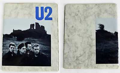 U2 (4) Bono, Edge, Mullen & Clayton Signed Joshua Tree World Tour Program BAS