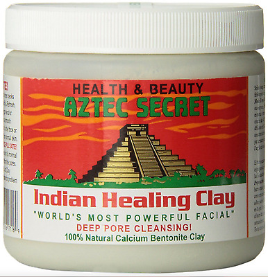 Aztec Secret Indian Healing Clay✅ 30g  Sample facial Bentonite Clay❤️