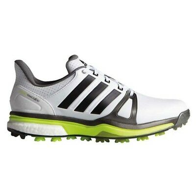 New Men'sAdidas Adipower Boost 2 White Golf Shoes F33364/Q44668 - Pick A Size