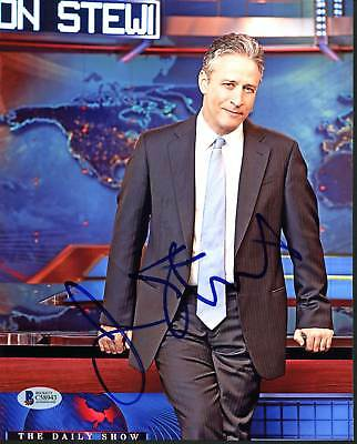 Jon Stewart The Daily Show Authentic Signed 8X10 Photo Autographed BAS #C58943
