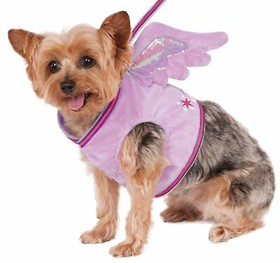 My Little Pony Twilight Sparkle Pet Dog Cat Costume Winged Harness Leash