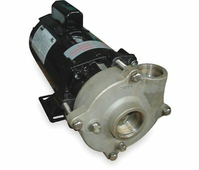 "Dayton 2Zwt8 Centrifugal Pump, 1/3 Hp, 120/240Vac, 1 Phase, 1"" Inlet Size New!"