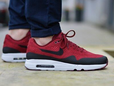 best service 7d982 3b281 NIKE AIR MAX 1 Ultra 2.0 Moire 918189-600 Chaussures Hommes - EUR ...