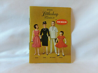 Vintage mini catalog The Littlechap Family dolls by Remco advertising booklet
