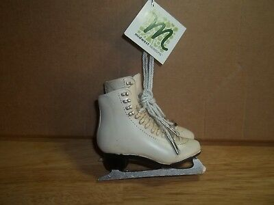 Midwest Ice Skates Resin Christmas Ornament New