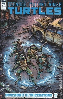 Teenage Mutant Ninja Turtles (IDW) #76B NM Stock Image