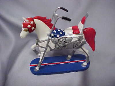 Trail of Painted Ponies Happy Trails Collection MOTORCYCLE HORSE EZ RIDER VGC fs