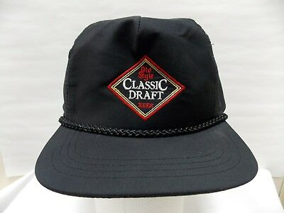 VTG Old Style Classic Draft Beer Snapback Baseball cap Corded embroidered  hat c9f63480ee82