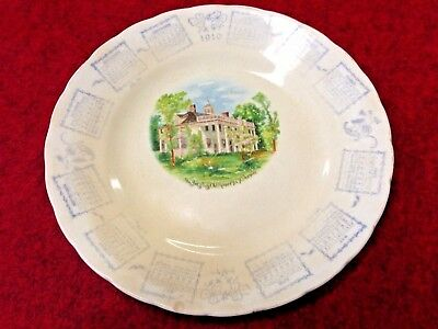 1910 Calendar Plate Roberts IL Illinois R.B. Chambers Gen'l Merchandise Ford Co.