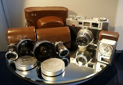 Pax Yamato M4 35mm Rangefinder Camera Camera Collection-In Excellent Condition!
