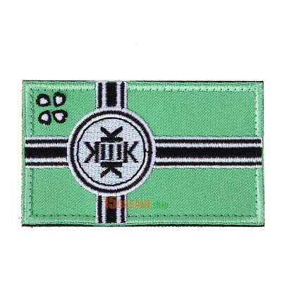 KEK Flag Tactical Hook & Loop Army Embroidery Badges Morale Embroidered Pat #ORP