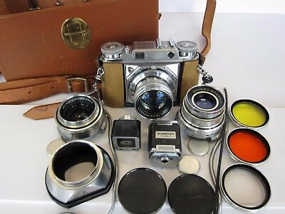 Camera Voigtlander Prominent Kit with Nokton 50 mm and lots more