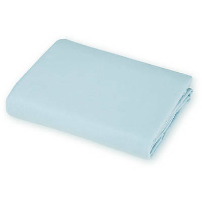 American Baby Company 100% Cotton Jersey Fitted Crib Sheet Blue - New Open Pkg