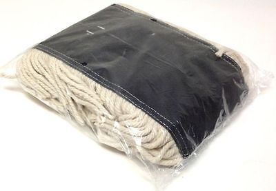 "Dust Mop Pad Industrial 24""x5"" Cotton Yarn Disposable Head Refill Replacement"