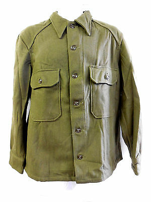 New Unissued Vietnam Era U.s. Army Wool Cold Weather Field Shirt (Large)