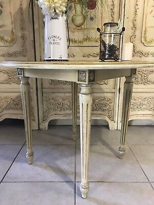 Vintage French Provincial Style Side Hall Coffee Table