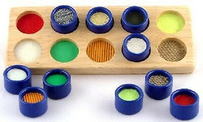 Touch and Match - Wooden Educational Sensory Matching/Learning Game