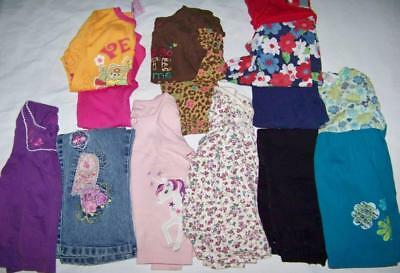 Lot of Girls 24M/2T Fall/Winter Clothes Shirts, Pants, Tops & Leggings Outfits
