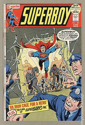 Superboy (1st Series DC) #187 1972 VF- 7.5