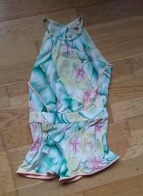 girls river island playsuit size 3 years hardly worn