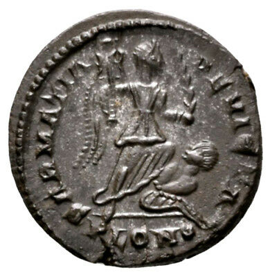 CONSTANTINE THE GREAT (323 AD) Scarce Follis. London #RB 9624