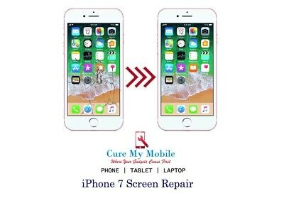 Iphone 7 Screen Repair Service Full Lcd Digitizer Replacement Same Day Service