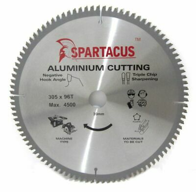 Quality Aluminium Cutting Saw Blade 305 x 30mm 96T Dewalt DW706 DW708 DWS780