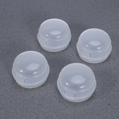 Universal Safety Stove Plastic Knob Covers Child Care Protect 4pcs Clear View