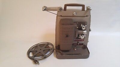 Vintage Bell and Howell Model 253A 8mm movie projector. Works.