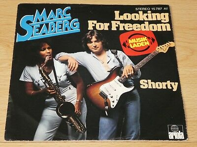 """7"""" Single: Marc Seaberg – Looking For Freedom / Shorty"""