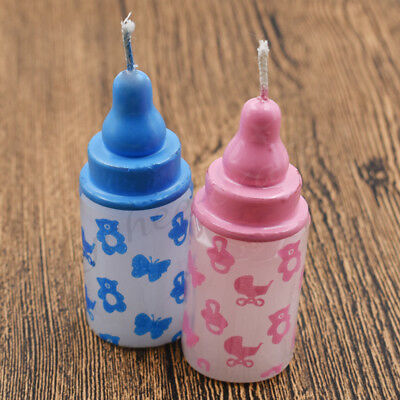 1x Bottle Baby Bottle Novelty 3D Candle BABY SHOWER Birthday Party Decoration