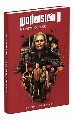 Wolfenstein II: The New Colossus (Collectors Edition Guide) NEW/NEU  PS4 XBOX PC
