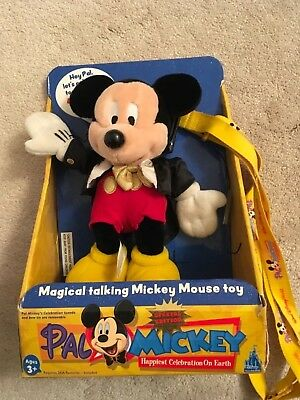 Rare PAL Interactive Mickey Mouse From Walt Disney World.2003