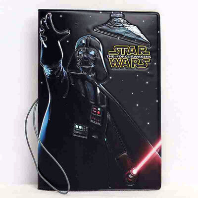 Darth Vader Imperial Star Wars Last Jedi Movie Games Passport Holder Case Cover
