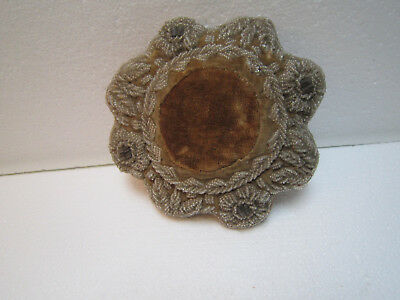 Antique Victorian Beaded Pin Cushion