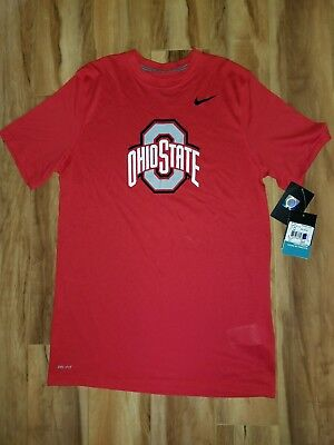 011849752d2 NWT Ohio State Buckeyes Nike Youth XL Logo Legend Dri-FIT T-Shirt Scarlet
