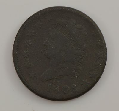 1808 Classic Head Large Cent *G07